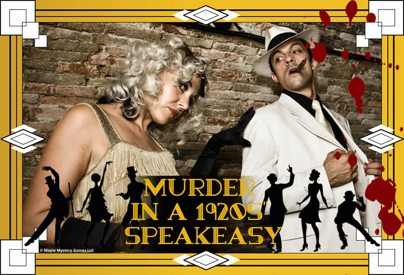 1920s' Speakeasy Murder Mystery Party - cover image