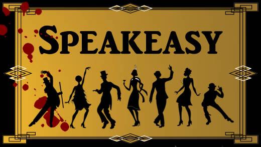 1920s' speakeasy murder mystery party