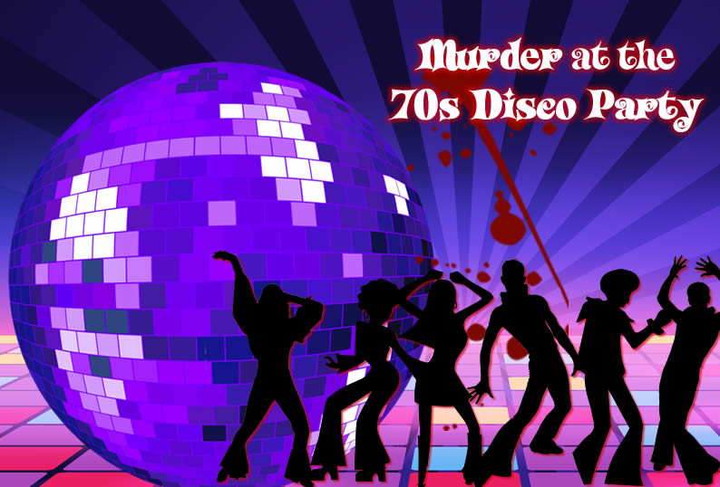 70s' Disco Murder Mystery Party - cover image