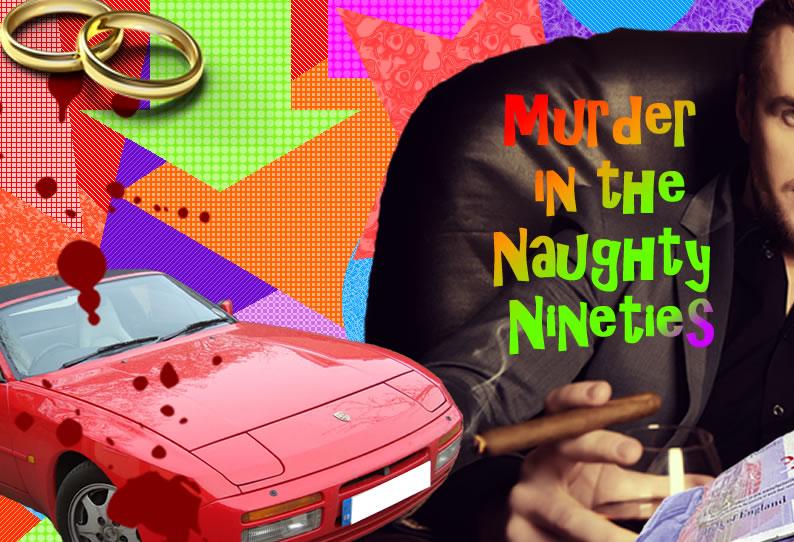Murder in the Naughty Nineties - cover image