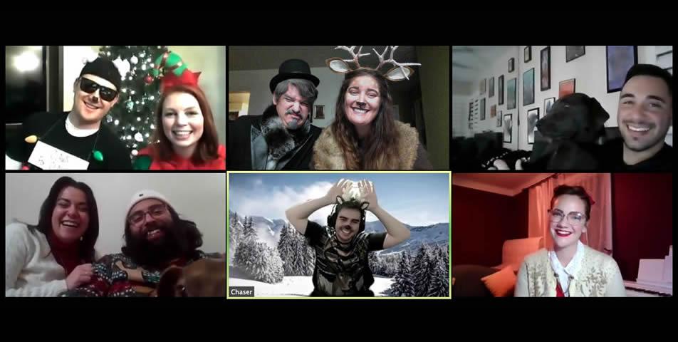 Christmas North Pole Murder Mystery Via Zoom