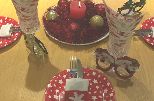Christmas party table ideas