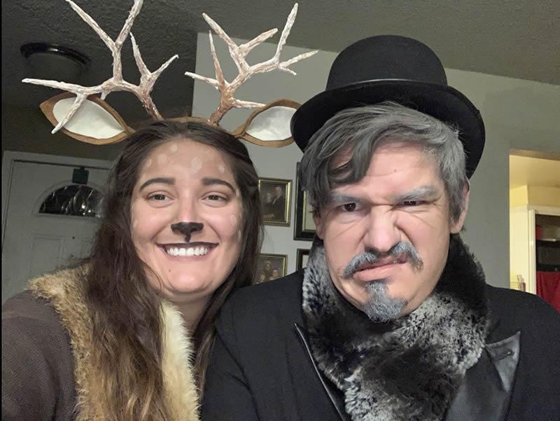 Deerie Deer and Scrooge