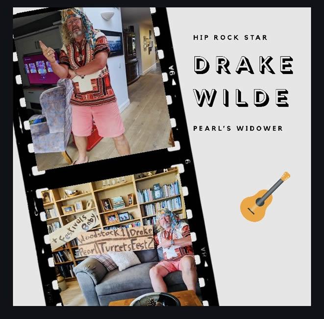 Drake Wilde - rock star extraordinaire!