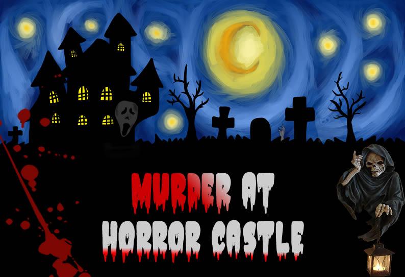 Fantasy Horror Murder Mystey Party Cover