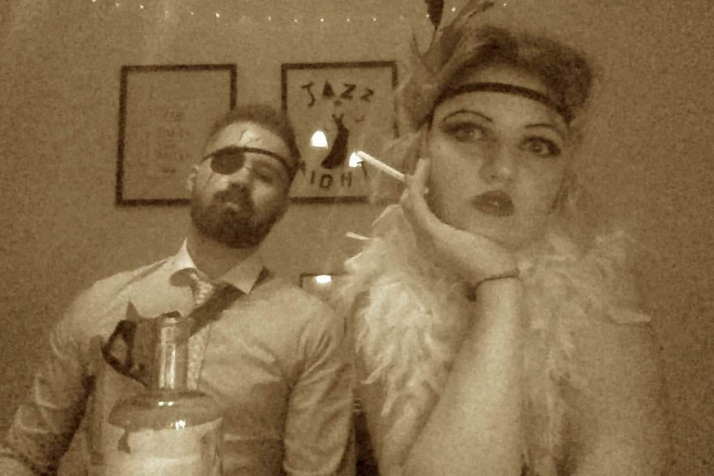 Flapper & gangster
