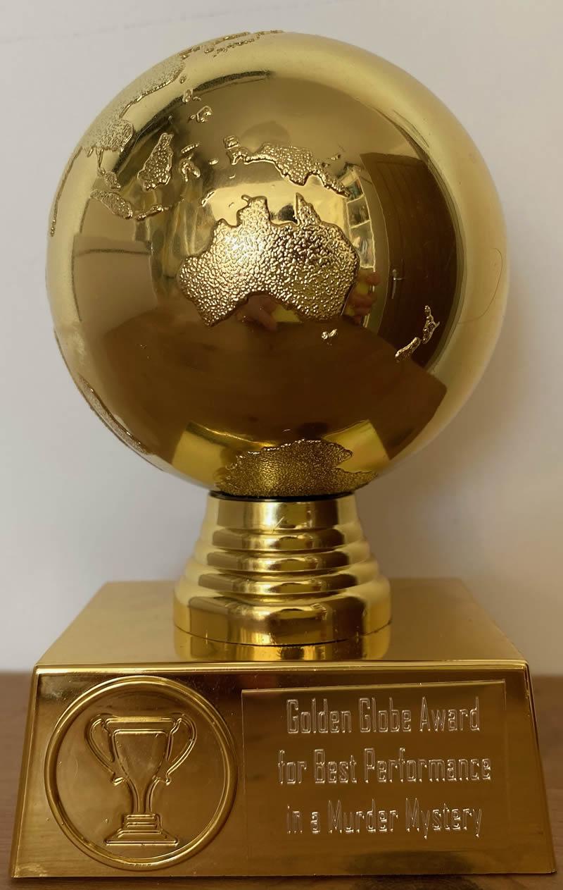 Golden Globe Award Best Murder Mystery