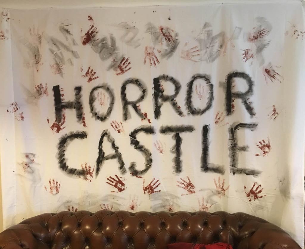 Horror backdrop
