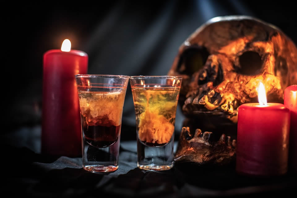 Horror party drinks