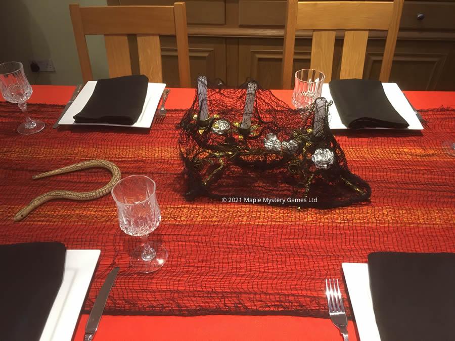 Horror table