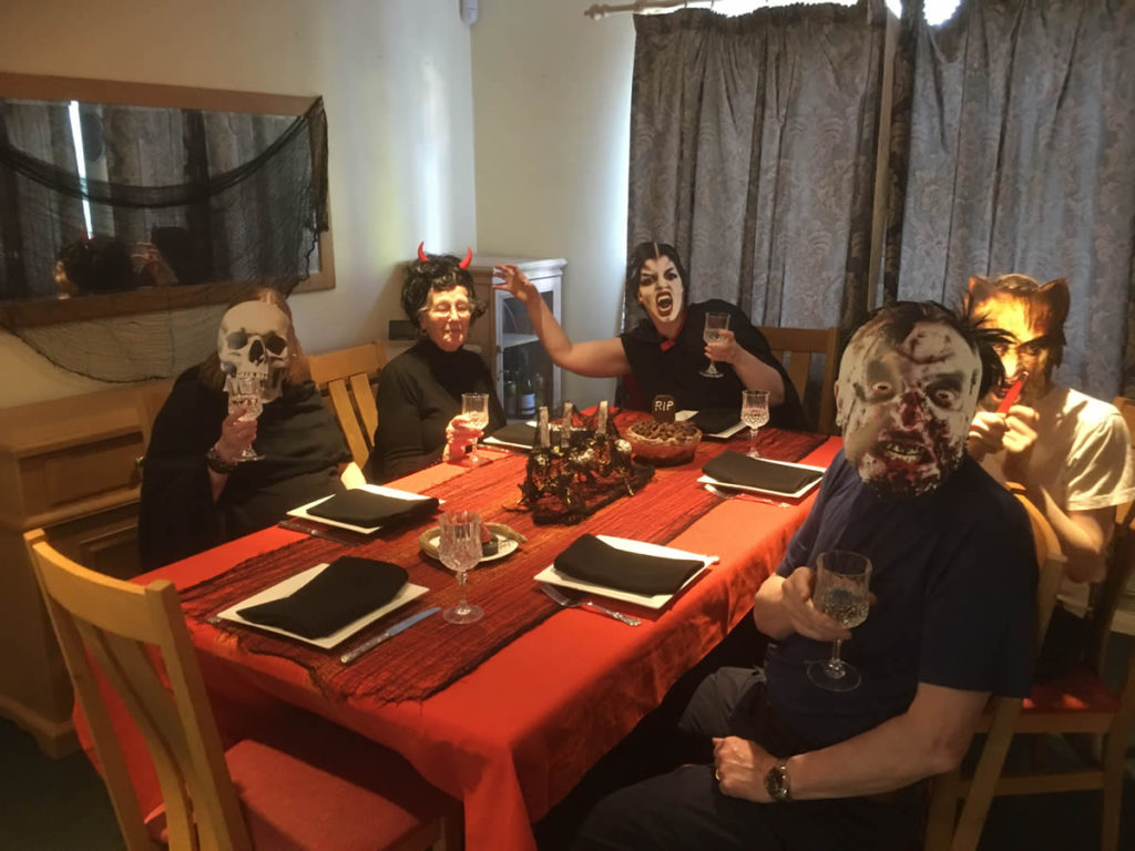 Masked party