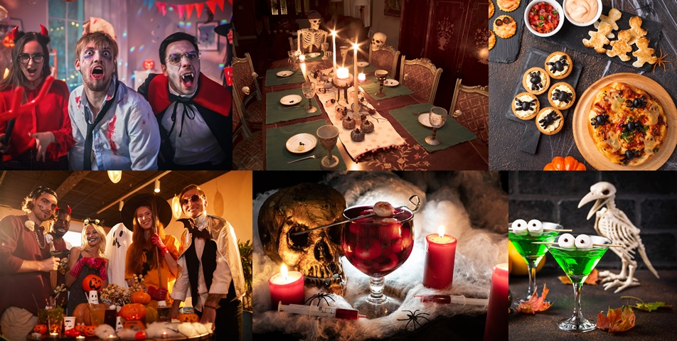 Murder at Horror Castle: party photos