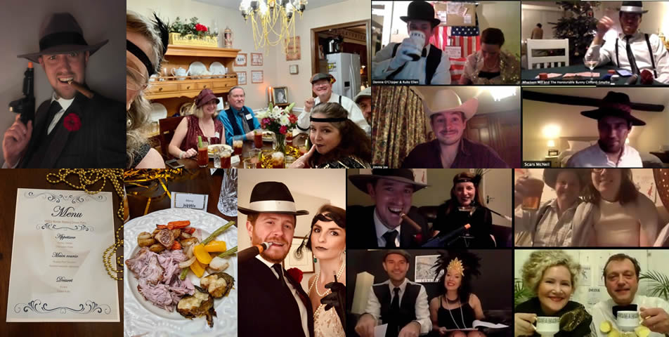 Our featured Murder in a 1920s Speakeasy parties