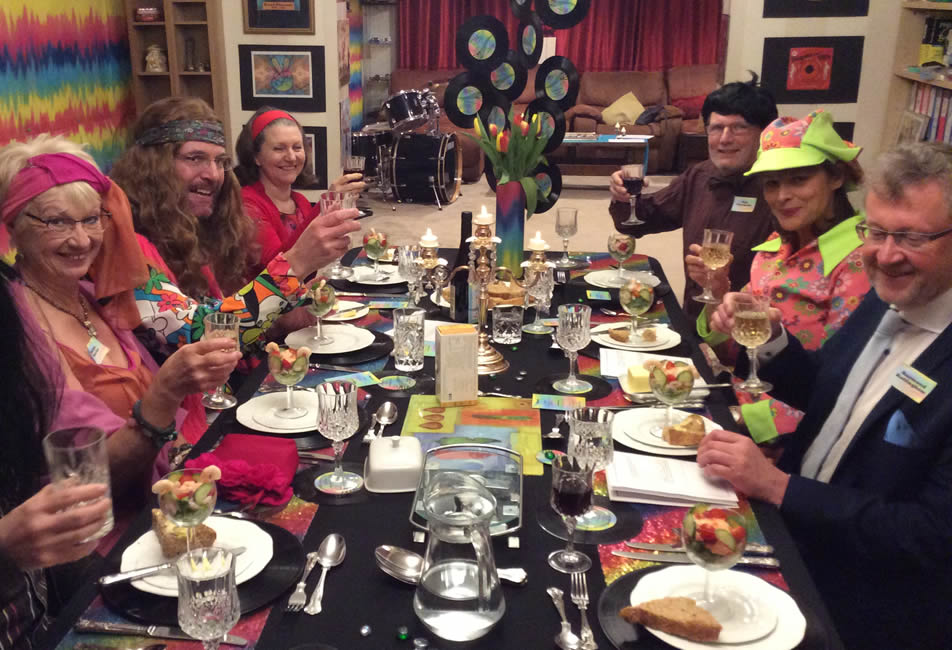 Swinging Sixties Murder Mystery Dinner Party
