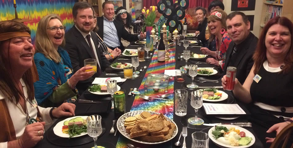 Swinging Sixties Murder Mystery - party version (12-14 people)