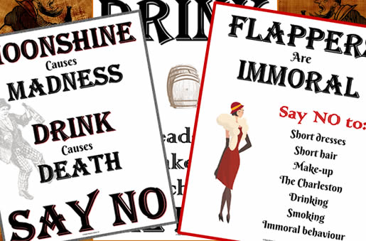 Temperance and moralism posters