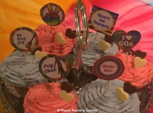 Themed cupcake toppers