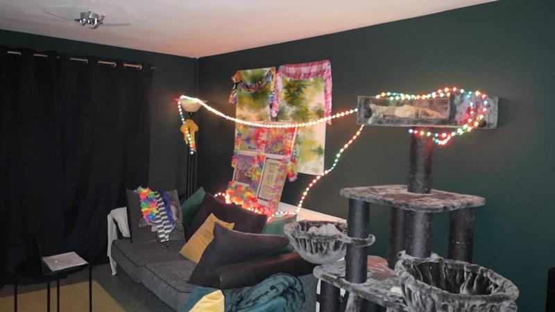 Virtual decorations