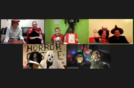 Zoom Horror Murder Mystery Party - 8-10 player version